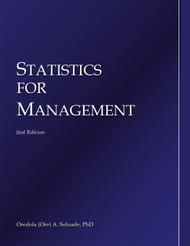 Statistics for Management (Oredola Soluade) - Physical