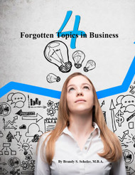 4 Forgotten Topics in Business (Brandy Scholze) - Paperback