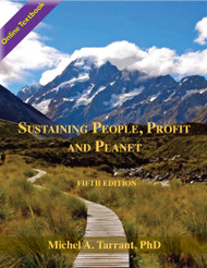 Sustaining People, Profit and Planet - 5th Edition (Michael Tarrant) Online Textbook