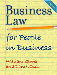 Business Law for People in Business (Glover & Doss) - Paperback