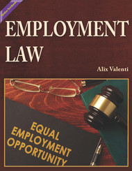 Employment Law (Alix Valenti) Online Textbook