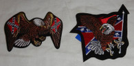 Confederate Flag and Eagle Patch