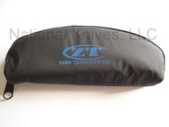 "Zero Tolerance ZT-POUCH Zipper Pouch Travel Case, 2.75"" x 6"""