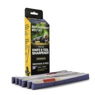 Work Sharp Replacement Belt Set WSSA0002705, 6000 Grit, 6 Pack
