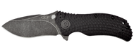 "Zero Tolerance 0300BW Assisted Opening Knife, Blackwashed 3.75"" Plain Edge Blade"