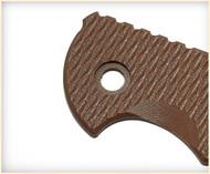 "Rick Hinderer Knives Folding Knife G-10 Handle Scale for XM-18 - 3"" - FDE"