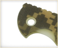 "Rick Hinderer Knives Folding Knife Handle Scale for XM-18 - 3.5"", ACU Camo"