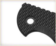 """Rick Hinderer Knives Folding Knife G-10 Handle Scale for XM-18 - 3.5"""" - Black"""
