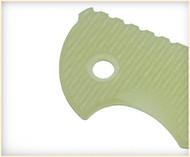 "Rick Hinderer Knives Folding Knife G10 Handle Scale for XM-18 - 3.5"" Translucent"