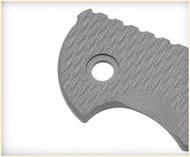 "Rick Hinderer Knives Folding Knife Handle Scale for XM-24 - 4"", Battleship Gray"