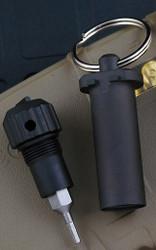 Rick Hinderer Knives Armorer's Tool Kit - Stainless Steel - DLC Black