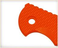 """Rick Hinderer Knives Folding Knife Handle Scale for XM-18 - 3.5"""", Orange"""