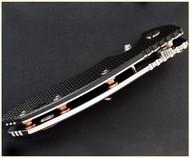 "Rick Hinderer Knives Standoffs for XM-18 - 3"" - Titanium - Stonewash Bronze"