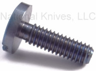 "Rick Hinderer Knives Folding Knife Pivot Screw for 3.5"" XM-18, Titanium - Blue - Will Also Work On XM-24/Eklipse/ZT0392"