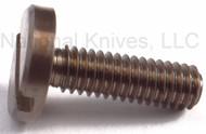 "Rick Hinderer Knives Folding Knife Pivot Screw for 3.5"" XM-18, Titanium - Bronze - Will Also Work On XM-24/Eklipse/ZT0392"