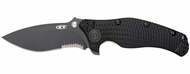 "Zero Tolerance 0200ST Folding Knife, Black 4"" Combo Edge Blade, Black G-10 Handle"