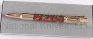 Finney Knives Custom Bullet Pen with Douglas Fir Pinecone