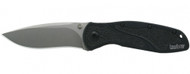 "Kershaw Blur 1670S30V Assisted Opening Knife, 3-3/8"" Plain Edge Blade, Black Handle"