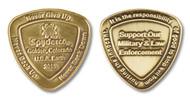 Spyderco SpyderCoin 2015 Challenge Coin - Antique Bronze Finish