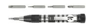 Kershaw TX-Tool Keychain Driver Set - Slotted, Philips, T-6, T-8 & T-10 Torx Bits