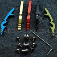 Rick Hinderer Knives Hinderer Modular Backspacer System (HMBS) SET, Black Aluminum