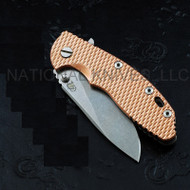"Rick Hinderer Knives Textured Copper Scale for 3.5"" XM-18 Knife"