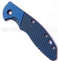 "Rick Hinderer Knives XM-18 ""Bolstered"" G-10 Handle Scale - Fits 3.5"" Models Only - Blue and Black"