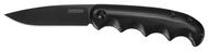 "Kershaw AM-5 2340 Assisted Opening Knife, Black 3.25"" Plain Edge Blade, Black G-10 Handle"