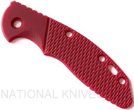 "Rick Hinderer Knives XM-18 ""Bolstered"" G-10 Handle Scale - Fits 3.5"" Models Only - Red"