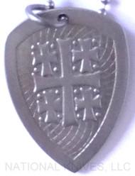 RMJ Tactical Titanium Jerusalem Cross Pendant