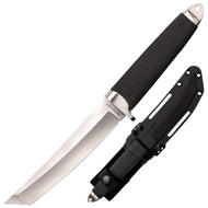 "Cold Steel Master Tanto 35AB Fixed Blade Knife, 6"" Plain Edge San Mai Blade"