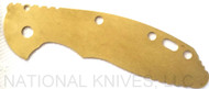 "Rick Hinderer Knives Brass Liner for 3.5"" XM-18 Knife"