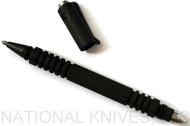 Rick Hinderer Knives  Investigator Ink Pen, Parkerized O-1 Tool Steel
