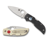 "Spyderco Chaparral Sun & Moon C152GSMP Folding Knife, 2.812"" Plain Edge Blade, G-10 Handle"