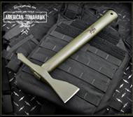 American Tomahawk Company  Model 1 Tomahawk - Hickory - Olive Drab - Sheath