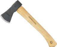 Condor Knife and Tool Mini Greenland Hatchet CTK3930-0.77, 1060 High Carbon Steel, American Hickory Handle, Sheath