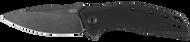 Zero Tolerance 0357BW Assisted Opening Folding Knife, Blackwashed CPM-20CV Plain Edge Blade, Black G-10 Handle
