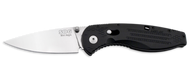 "SOG Mini Aegis AE21-CP Assisted Opening Knife, 3"" Plain Edge Blade"