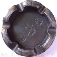 RMJ Tactical Gold Point Forge Ashtray, Hammered