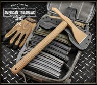 American Tomahawk Company Model 1 Tomahawk - Coyote Brown STN66 Nylon Handle