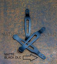 Rick Hinderer Knives Pocket Clip & Filler Tab Set - Matte Black DLC Titanium