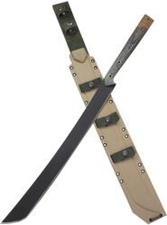 Condor Tool & Knife Yoshimi Machete CTK1807-19.3 1075 HC Blade Micarta Handle