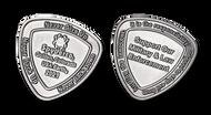 Spyderco SpyderCoin 2021 Challenge Coin - Antique Nickel Finish