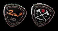 Spyderco SpyderCoin 2021 Fire Dragon Challenge Coin