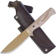 Condor Tool & Knife Desert Romper Knife CTK3909-4.5 Desert Tan 1075 HC Blade