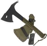 Condor Knife and Tool Sentinel Axe Army Green CTK1809-3.6 Black 1075 Steel