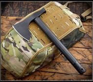 American Tomahawk Company Model 2 Tomahawk - 1060 Steel - Black STN 66 Nylon