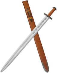 Condor Tool & Knife Viking Ironside Sword CTK1014-4 1075 HC Blade - Sheath