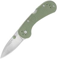 Condor Tool & Knife Cadejo Folder Knife CTK806-2.5SK 14C28N Blade Army Green