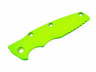 """Rick Hinderer Knives G-10 Handle Scale for Gen2 Eklipse - 3.5"""" - Neon Green"""